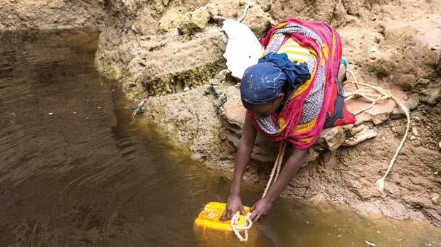 Around the world, 783 million people lack access to safe drinking water.