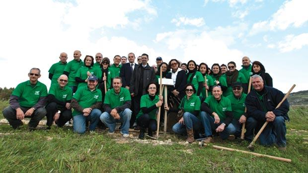 BoV's green leaders group at Majjistral Park.
