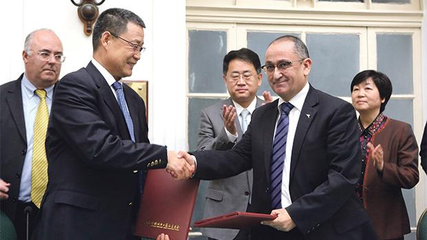 Chamber Agreement With China Foreign Trade To Bring Fruit To The Table
