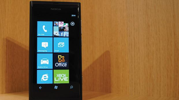The Nokia Lumia smartphone.