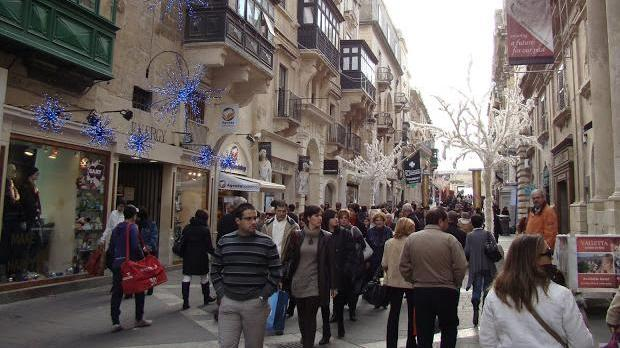 Shopping is moving away from small shops and from Valletta