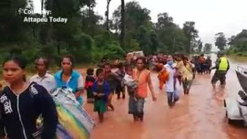 Laos dam collapse affects thousands, kills dozens