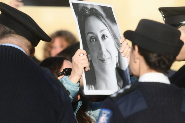 International journalism groups condemn 'intimidation' of reporters in Malta
