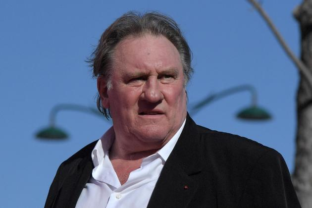 French film giant Gerard Depardieu charged with rape