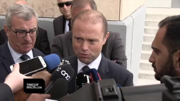 Watch: 'I will keep my promises but courts come first,' Muscat says of Egrant publication