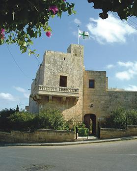 Castello Lanzun, San Ġwann