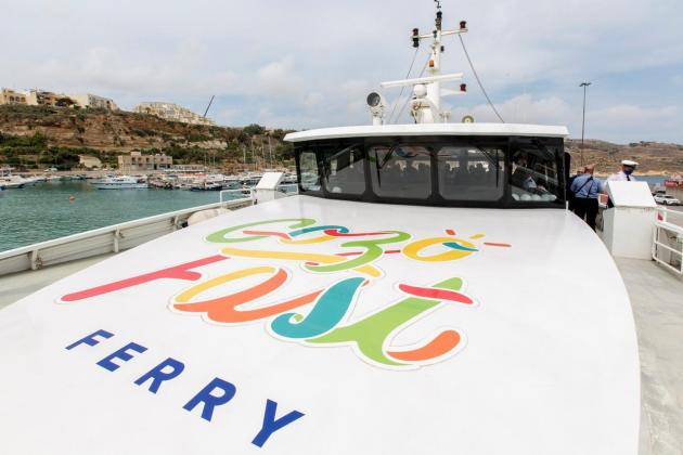 Gozo Fast Ferry carries over 6,000 passengers in a week