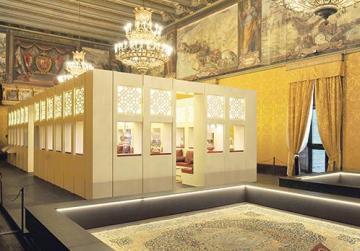 Arabian nights transforms Grandmaster's palace