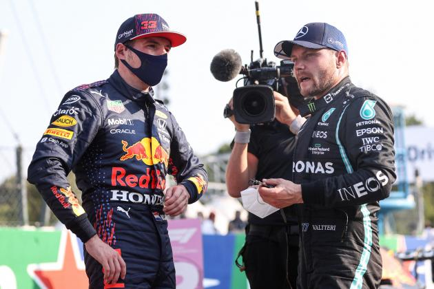 Verstappen in pole at Italian Grand Prix, Bottas wins sprint