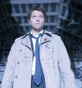 Never is Castiel (Mischa Collins) so attractive as when he becomes Supernatural's fallen angel.