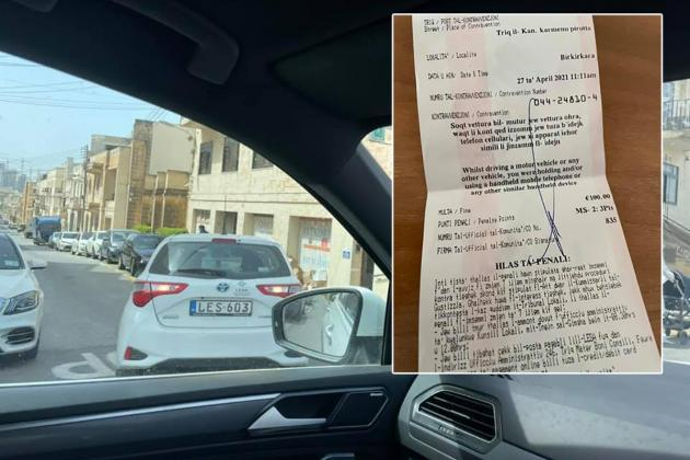 'I was fined by a warden who I caught breaking the law'