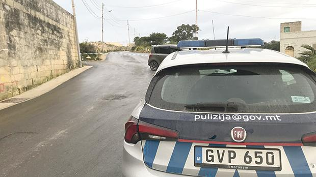 """The street where the drive-by shooting took place in Birżebbuġa: """"The old saying is the police will not get out of bed if there is no blood on the floor. Scratch that. Make it a white man's blood on the floor"""". Photo: Mark Zammit Cordina"""