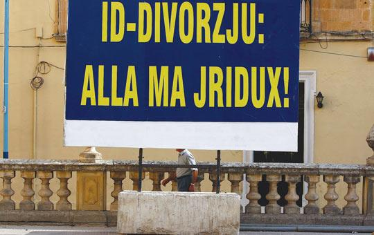 Since Nationalist MP Jeffrey Pullicino Orlando proposed divorce, some Church members resorted to anti-divorce billboards and threats of sin. But others said even Catholic MPs could vote for divorce if they felt it was for the common good.
