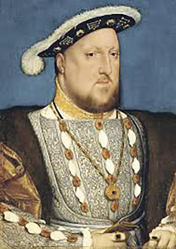 Living in the past: King Henry VIII