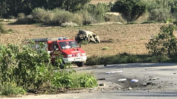 Ms Caruana Galizia was killed by a car bomb in Bidnija.