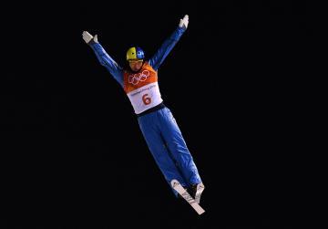 Abramenko wins aerials gold after tense final