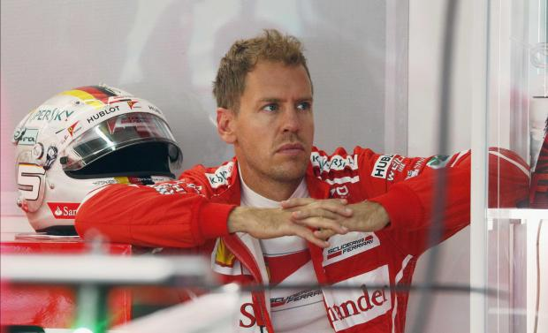Sebastian Vettel, of Ferrari, has enjoyed a perfect start at the Malaysian Grand Prix.