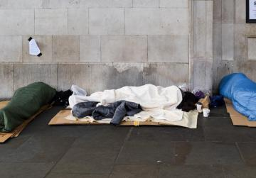 Football club opens doors to London homeless