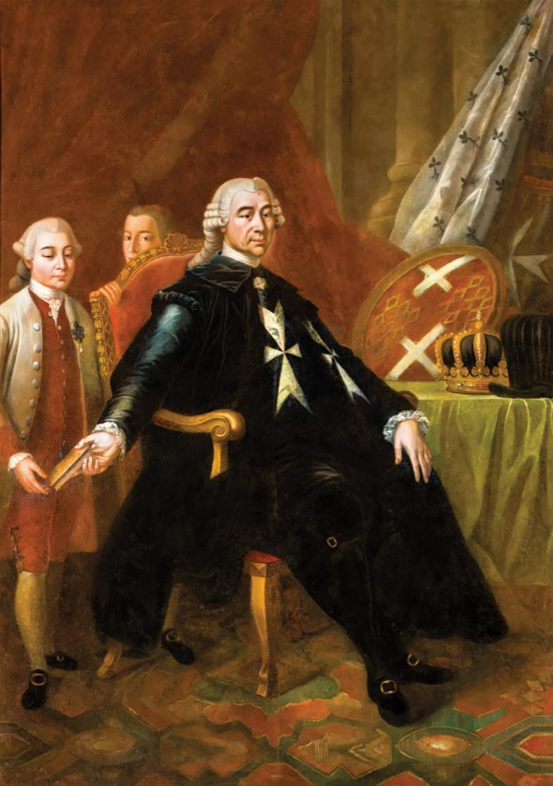 Grand Master Emanuel de Rohan Polduc (1775-97): he continued the trials of the rebels that had started during the rule of his predecessor.