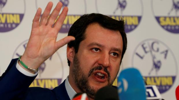 Northern League party leader Matteo Salvini.