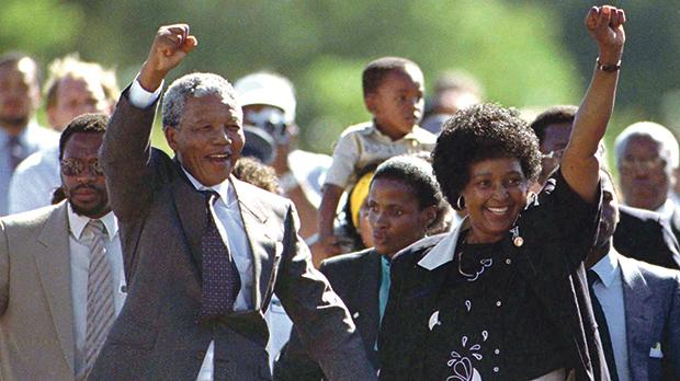 Amid increasing civil unrest, mounting international pressure and to avoid a possible civil war, Mandela was released from prison in 1990.