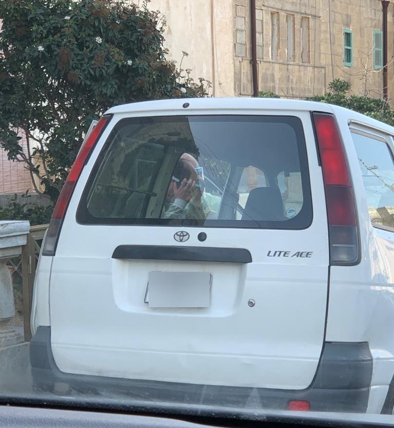 The van sparked concern in Gozo.