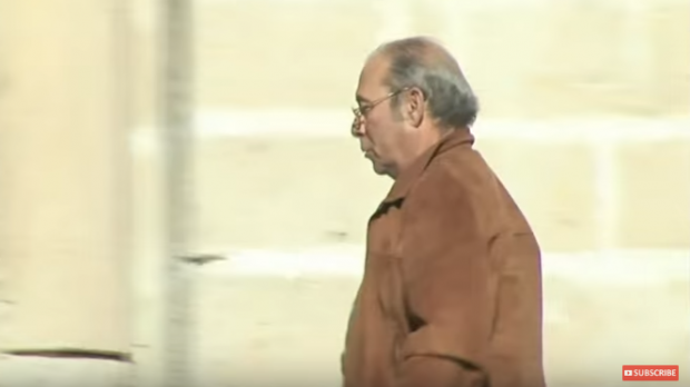 Tony Gauci filmed in a documentary.