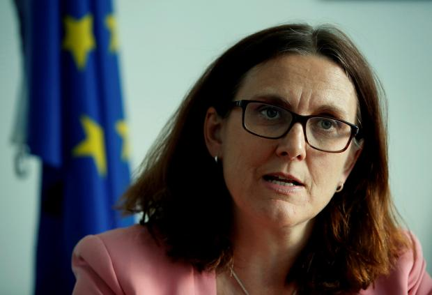 Cecilia Malmstrom is being mentioned as a potential candidate. Photo: Reuters