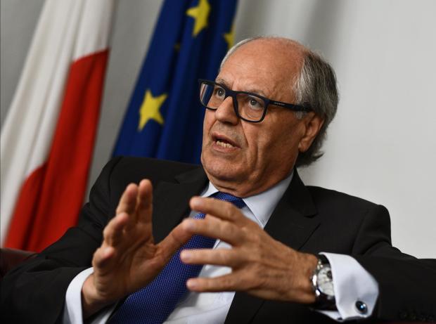 Finance Minister Edward Scicluna.   Photo: Chris Sant Fournier
