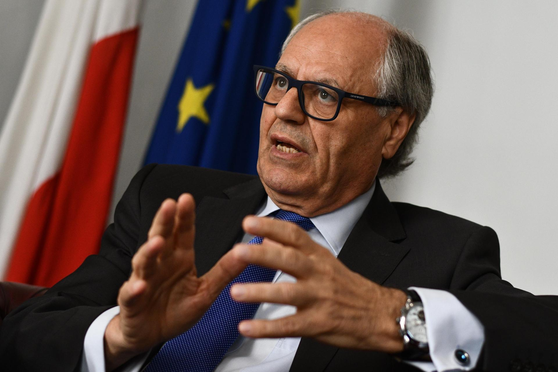 Edward Scicluna, who alleged that Schembri ran a 'kitchen cabinet' within the Muscat government. Photo: Jonathan Borg