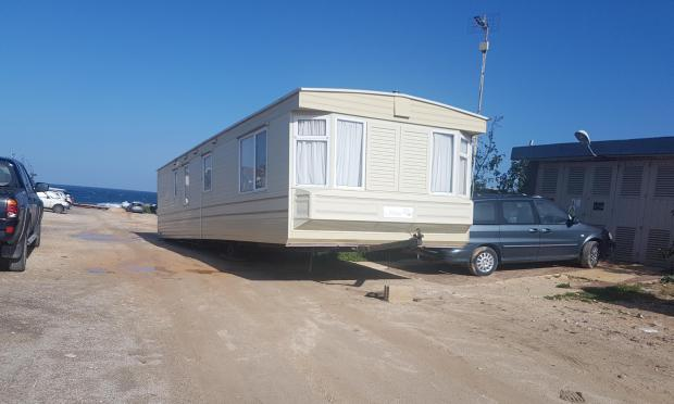 Around 70 people have claimed they were 'conned' into buying one of the mobile homes.