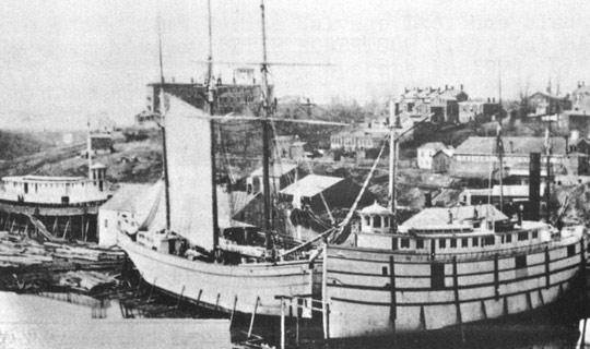 Schikluna's shipyard contributed about $200 million to the Canadian economy during its lifetime.