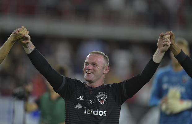 Wayne Rooney scored a hat-trick in resounding DC United victory.