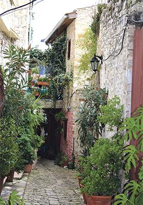 Cyprus villages offer peace and tranquillity.