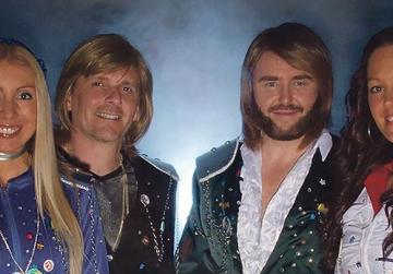 Abba tribute band gives show