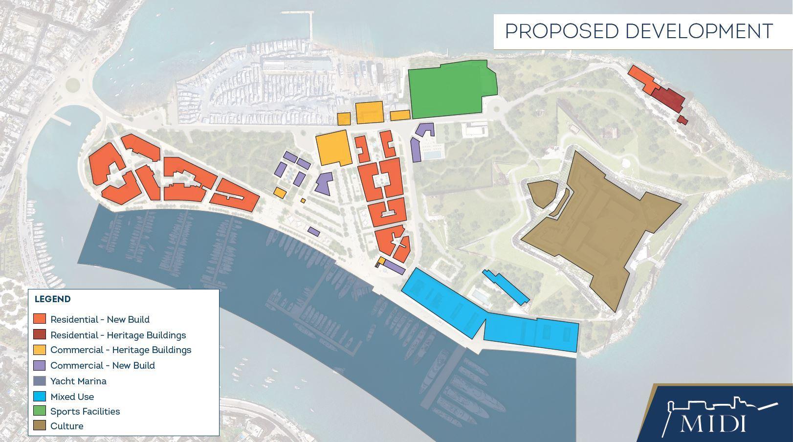 Proposed development. Photo: Midi