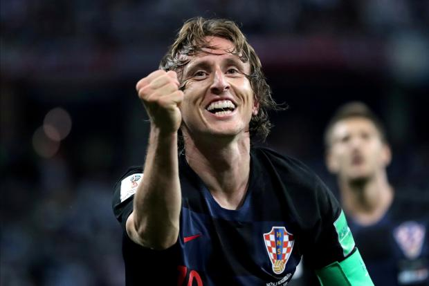 Luka Modric has been the mastermind of Croatia's fine run at the World Cup.