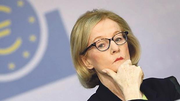 Danièle Nouy, chairwoman of the European Central Bank's supervisory board.