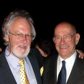 Richard England (left) with Paul Asciak.