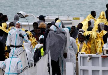 Mediterranean countries present united front in fight against human trafficking