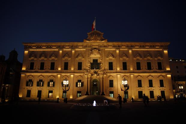 The Office of the Prime Minister in Valletta. Photo: Darrin Zammit Lupi
