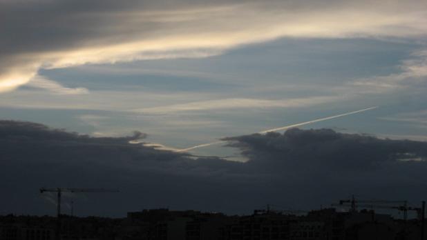 Unusual cloud formation. Photo: Noel Caruana Scicluna