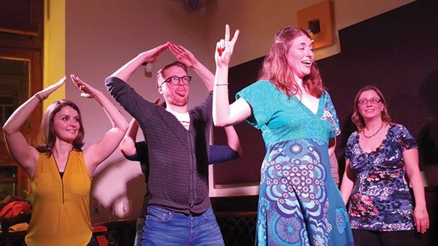 Improv theatre requires a strong knowledge of acting techniques.