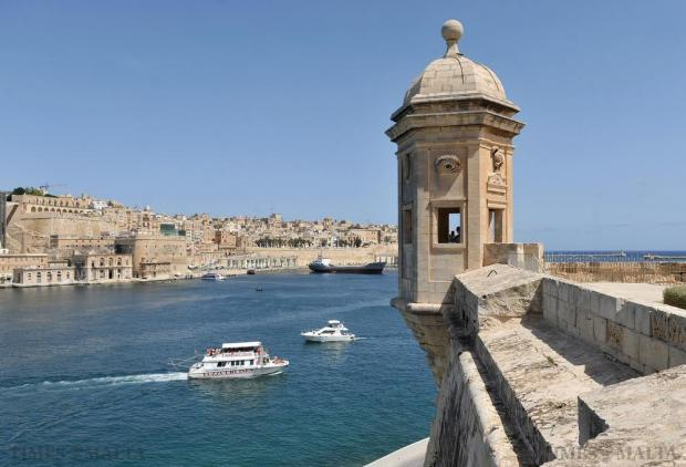 The Gardiola of Senglea is seen on August 20, after upcoming restoration works were announced. Photo: Chris Sant Fournier