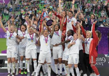 Watch: Lyon cruise to sixth Women's Champions League title