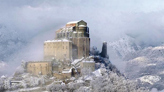La Sacra Ammantata Dalla Neve