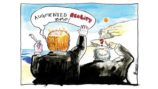 Cartoon by Seb Tanti Burló