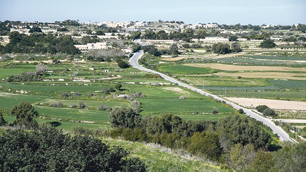 The vantage point from which, according to police testimony, they believe that spotter Alfred Degiorgio monitored the Caruana Galizia household. Photo: Jonathan Borg