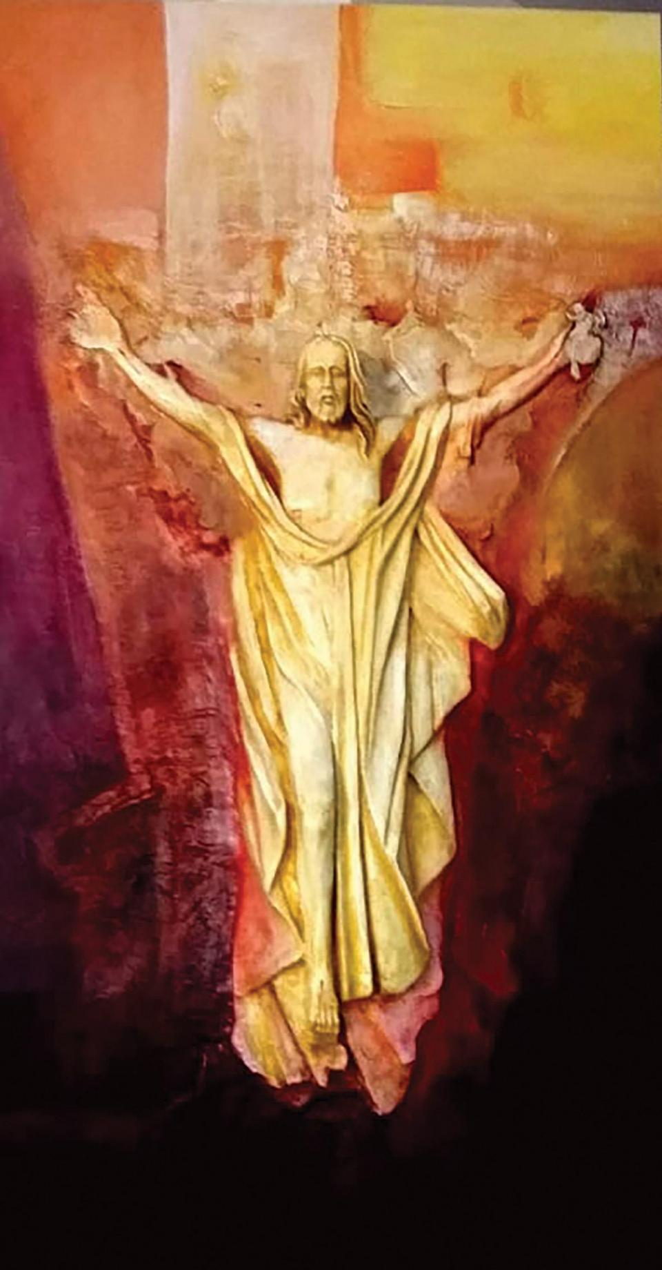 Risen Crucifix