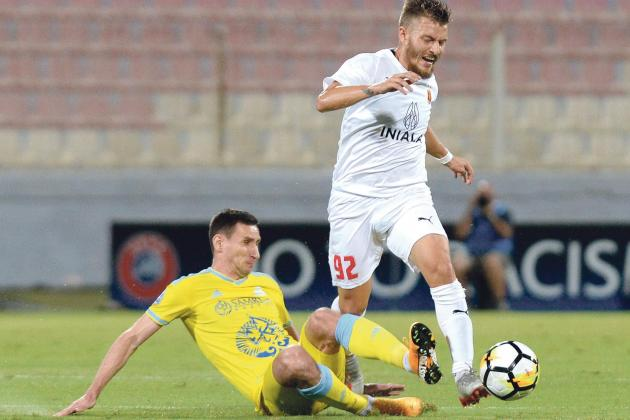 Valletta bow out with heavy defeat